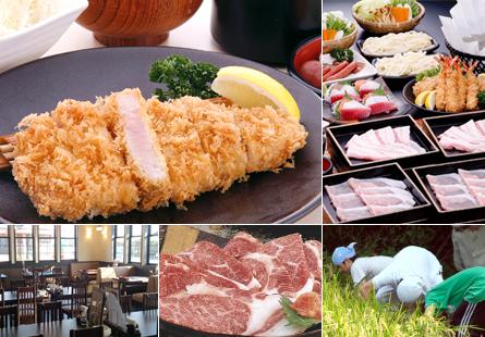 信州が誇る食の財産 人気ブランド豚「幻豚」 ブランド牛「南信州牛」を贅沢にご用意しております